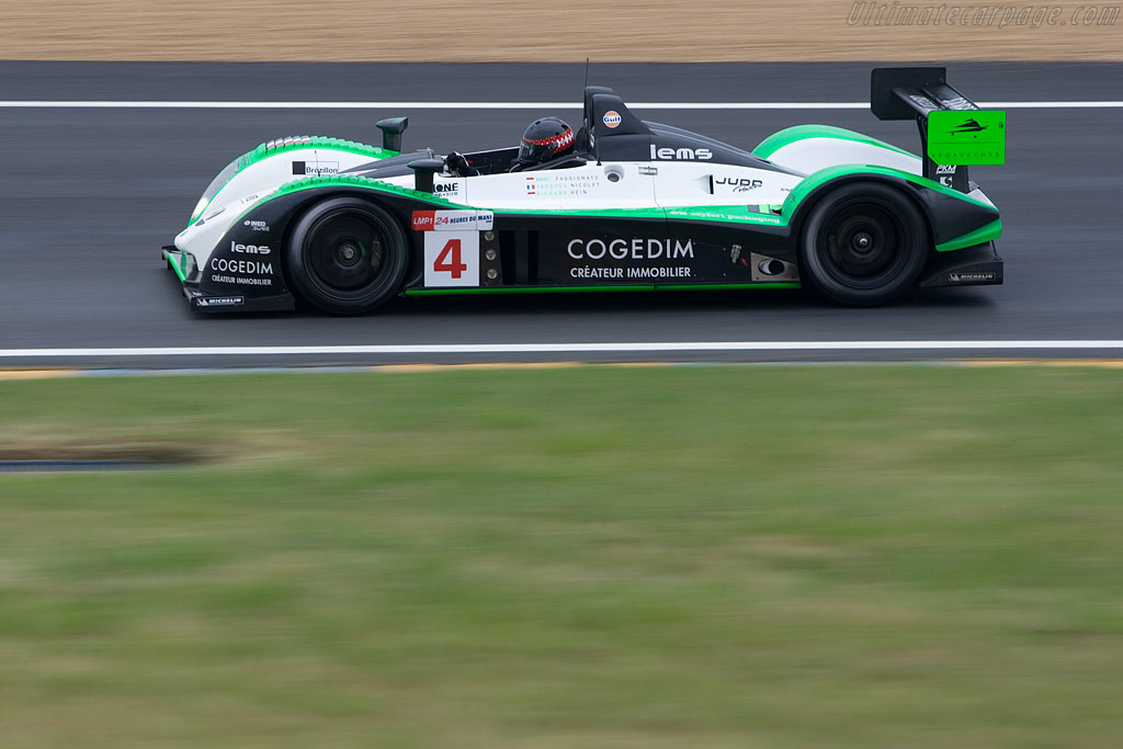 Pescarolo 01 Judd - Chassis: 01-05 - Entrant: Saulnier Racing  - 2008 24 Hours of Le Mans Preview