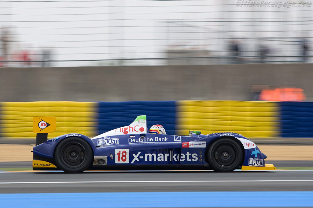 Pescarolo 01 Judd - Chassis: 01-04 - Entrant: Rollcentre Racing  - 2008 24 Hours of Le Mans Preview