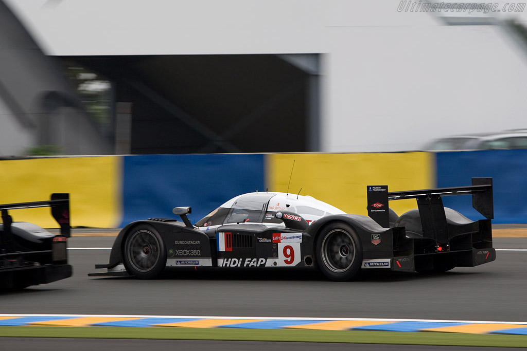 Peugeot 908 HDI FAP - Chassis: 908-04 - Entrant: Peugeot Sport Total  - 2008 24 Hours of Le Mans Preview