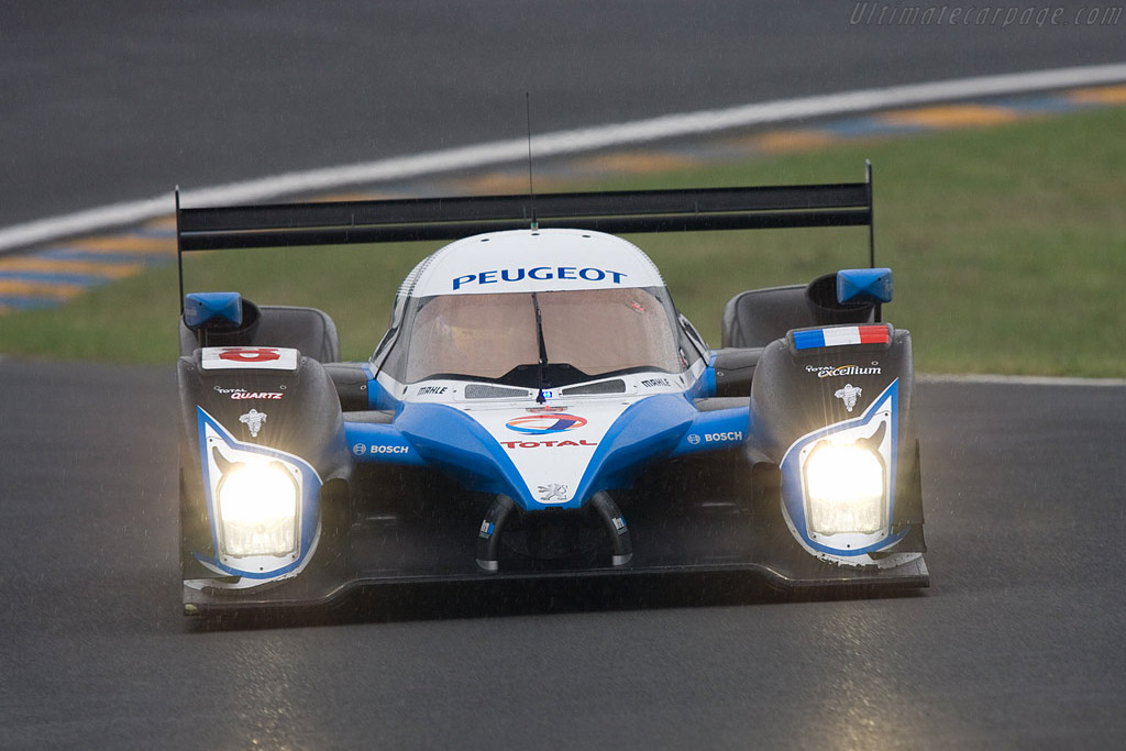 Peugeot 908 HDI FAP - Chassis: 908-03 - Entrant: Team Peugeot Total  - 2008 24 Hours of Le Mans Preview