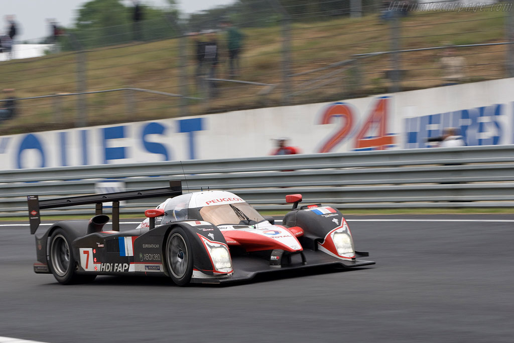 Peugeot 908 HDI FAP - Chassis: 908-02 - Entrant: Team Peugeot Total  - 2008 24 Hours of Le Mans Preview