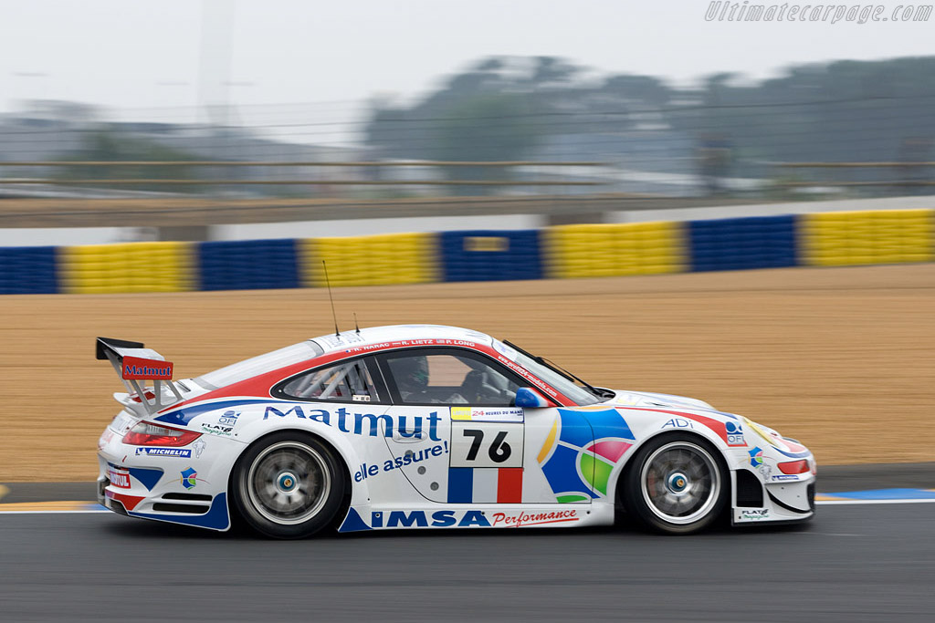 Porsche 997 GT3 RSR - Chassis: WP0ZZZ99Z8S799930 - Entrant: IMSA Performance Matmut  - 2008 24 Hours of Le Mans Preview