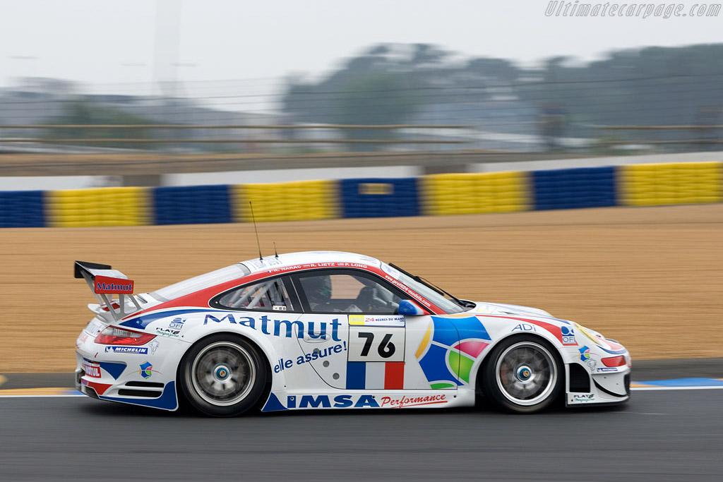Porsche 997 GT3 RSR - Chassis: WP0ZZZ99Z8S799930 - Entrant: IMSA Performance Matmut - 2008 24 Hours of Le Mans Preview
