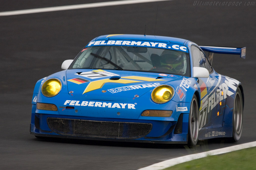 Porsche 997 GT3 RSR - Chassis: WP0ZZZ99Z8S799922 - Entrant: Team Felbermayr-Proton  - 2008 24 Hours of Le Mans Preview
