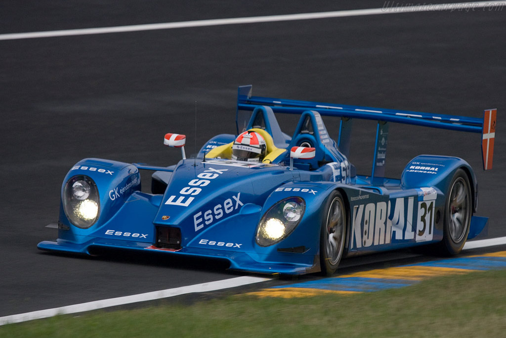 Porsche RS Spyder - Chassis: 9R6 709 - Entrant: Team Essex  - 2008 24 Hours of Le Mans Preview