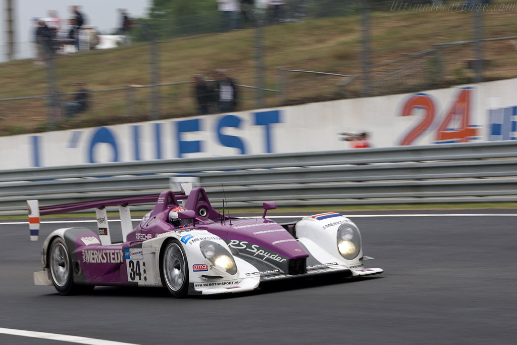 Porsche RS Spyder - Chassis: 9R6 708 - Entrant: Van Merksteijn Motorsport  - 2008 24 Hours of Le Mans Preview