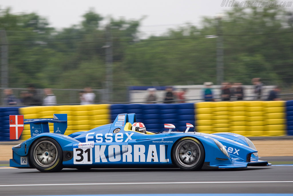 Porsche Rs Spyder Chassis 9r6 709 Entrant Team Essex 2008 24 Hours Of Le Mans Preview