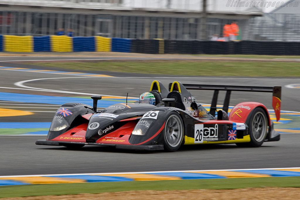 Radical SR9 AER - Chassis: SR9002 - Entrant: Team Bruichladdich Radical  - 2008 24 Hours of Le Mans Preview