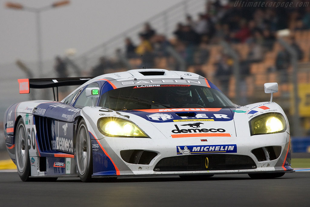 Saleen S7-R - Chassis: 080R - Entrant: Larbre Competition  - 2008 24 Hours of Le Mans Preview