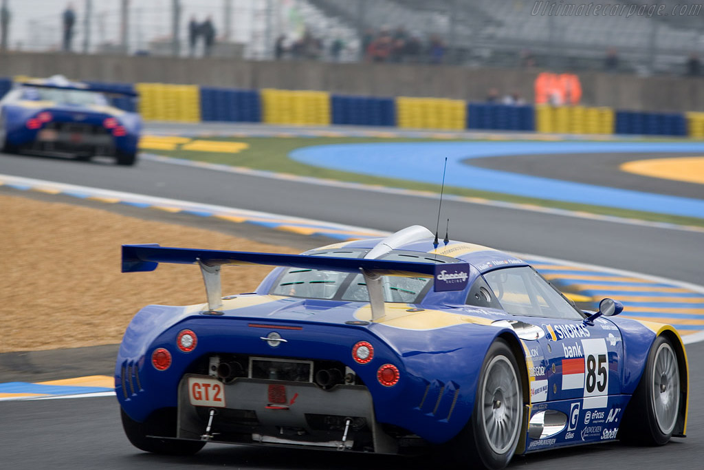 Spyker C8 Laviolette GT2R - Chassis: XL9AB01G37Z363190 - Entrant: Spyker Squadron  - 2008 24 Hours of Le Mans Preview