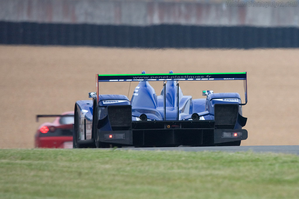 Zytek 07S/2 - Chassis: 07S-03 - Entrant: Trading Performance  - 2008 24 Hours of Le Mans Preview