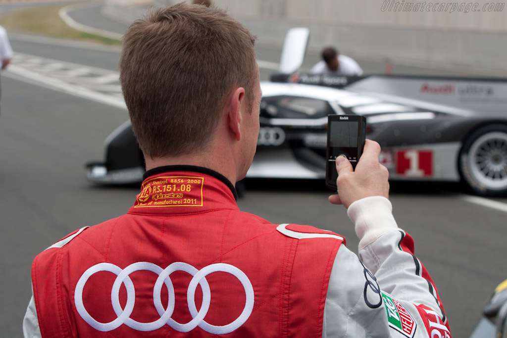 Allan McNish    - 2011 Le Mans Test