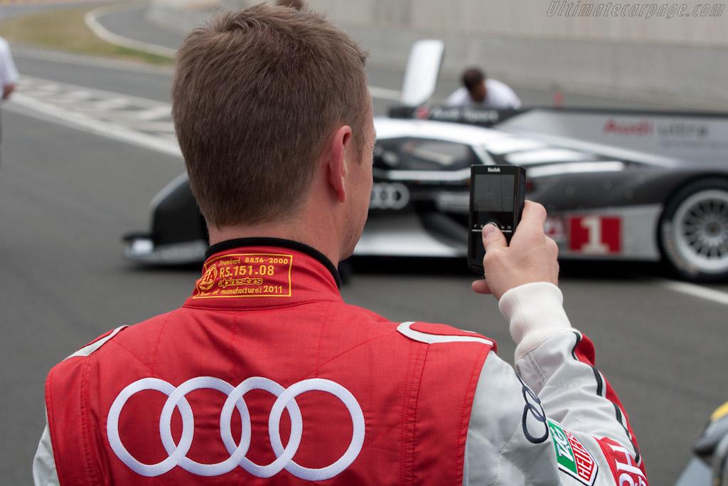 Allan McNish   - 2011 Le Mans Test