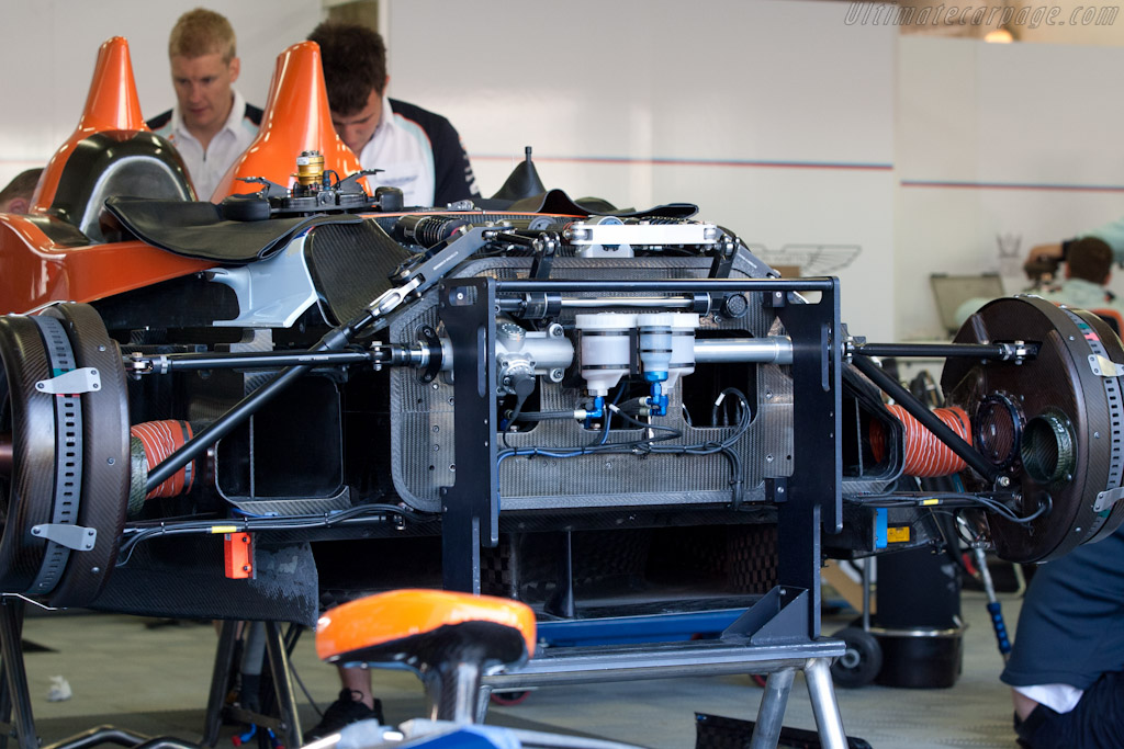 Aston Martin Amr One Chassis 2 2011 Le Mans Test