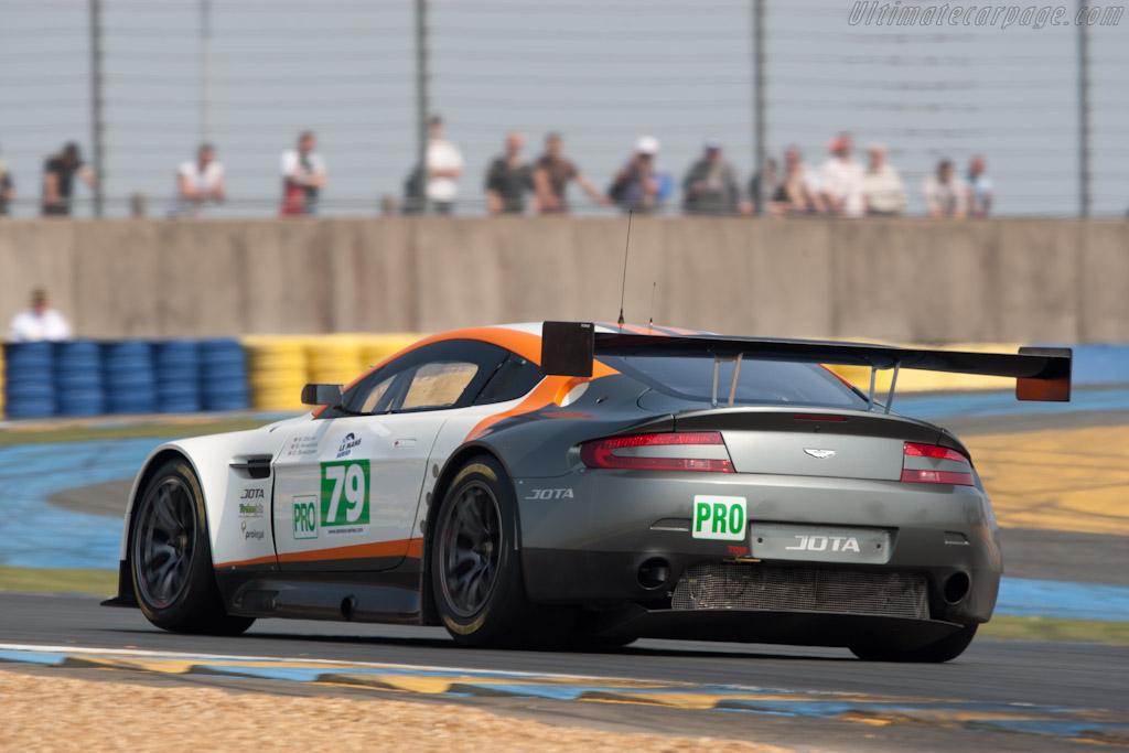 Aston Martin V8 Vantage GT2 - Chassis: GT2/008   - 2011 Le Mans Test