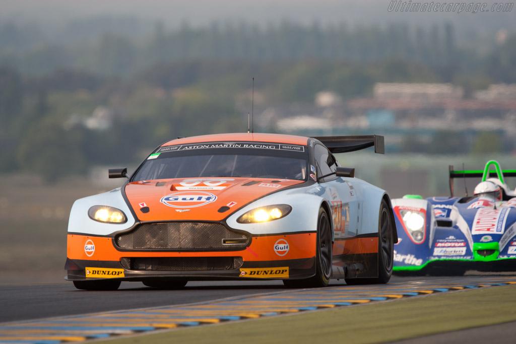Aston Martin V8 Vantage GT2 - Chassis: GT2/009   - 2011 Le Mans Test