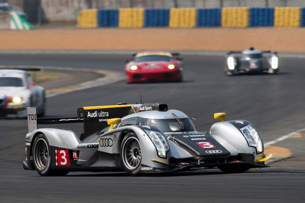 Audi R18 Tdi Chassis 105 2011 Le Mans Test