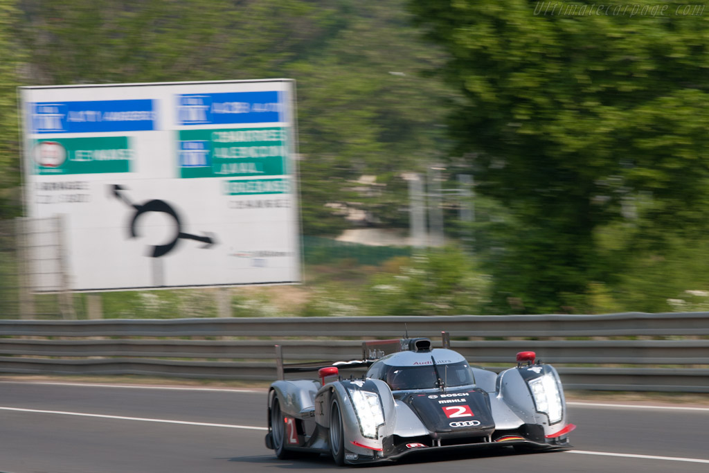 Audi R18 TDI - Chassis: 106  - 2011 Le Mans Test