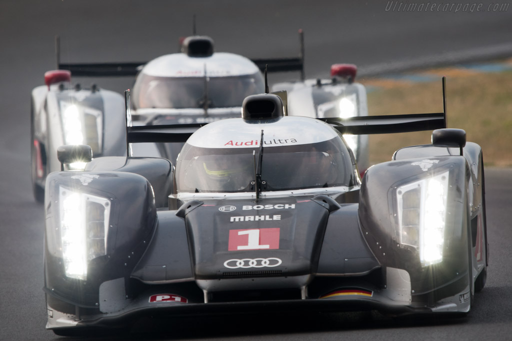 Audi R18 TDI - Chassis: 104  - 2011 Le Mans Test