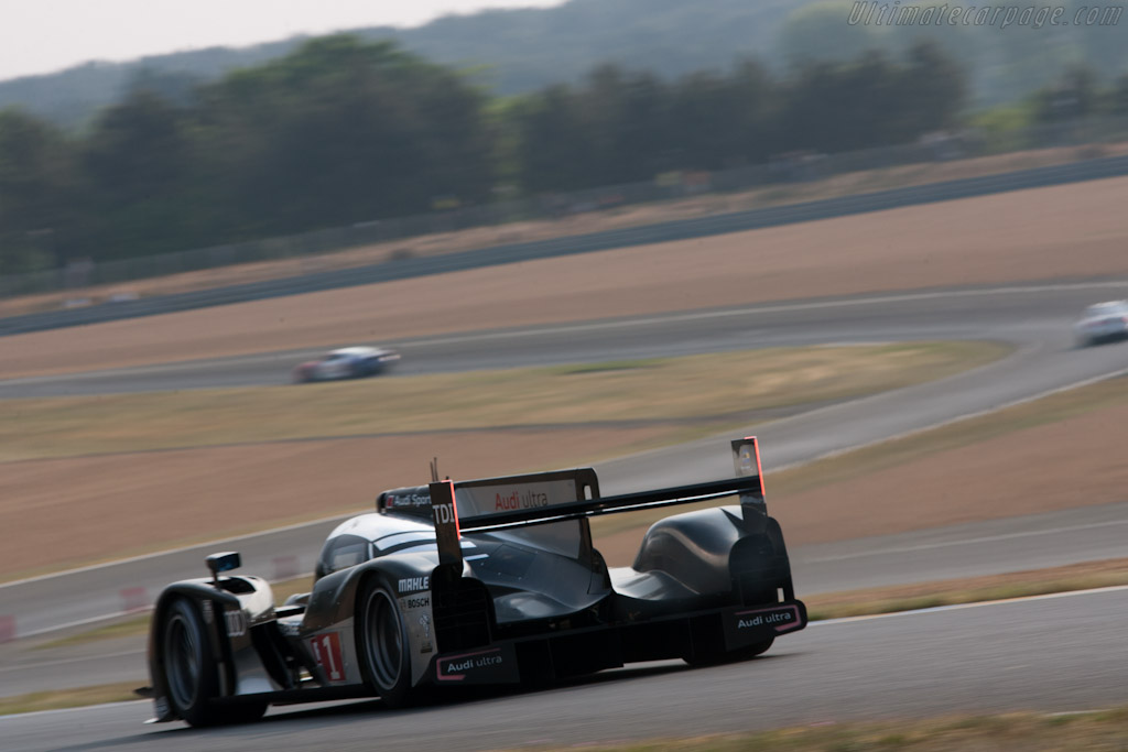 Audi R18 Tdi Chassis 104 2011 Le Mans Test