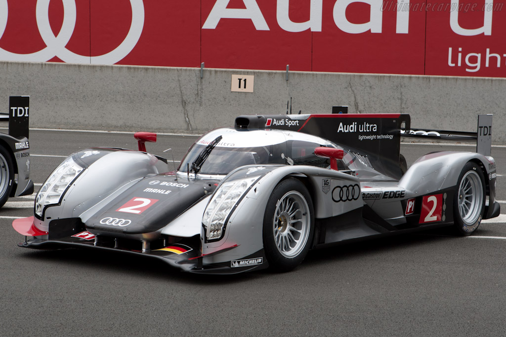 Audi R18 Tdi Chassis 106 2011 Le Mans Test