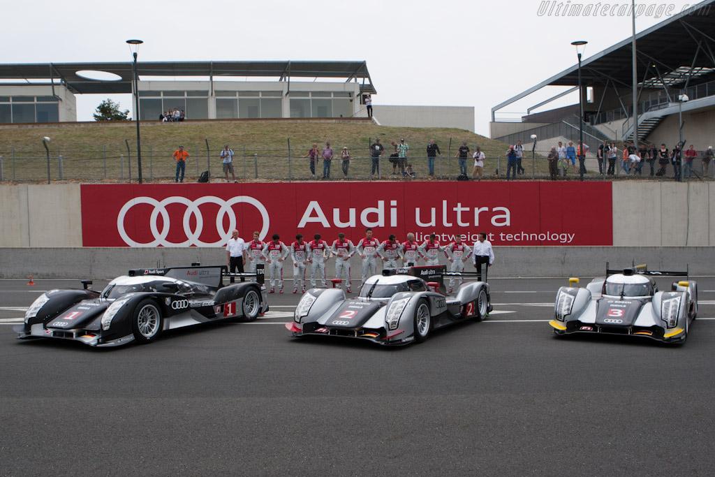 Audis - Chassis: 106   - 2011 Le Mans Test