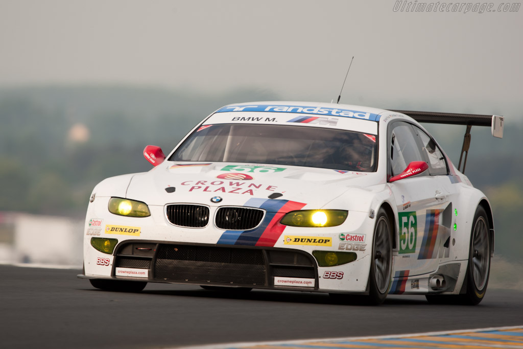 BMW M3 GT - Chassis: 1106   - 2011 Le Mans Test
