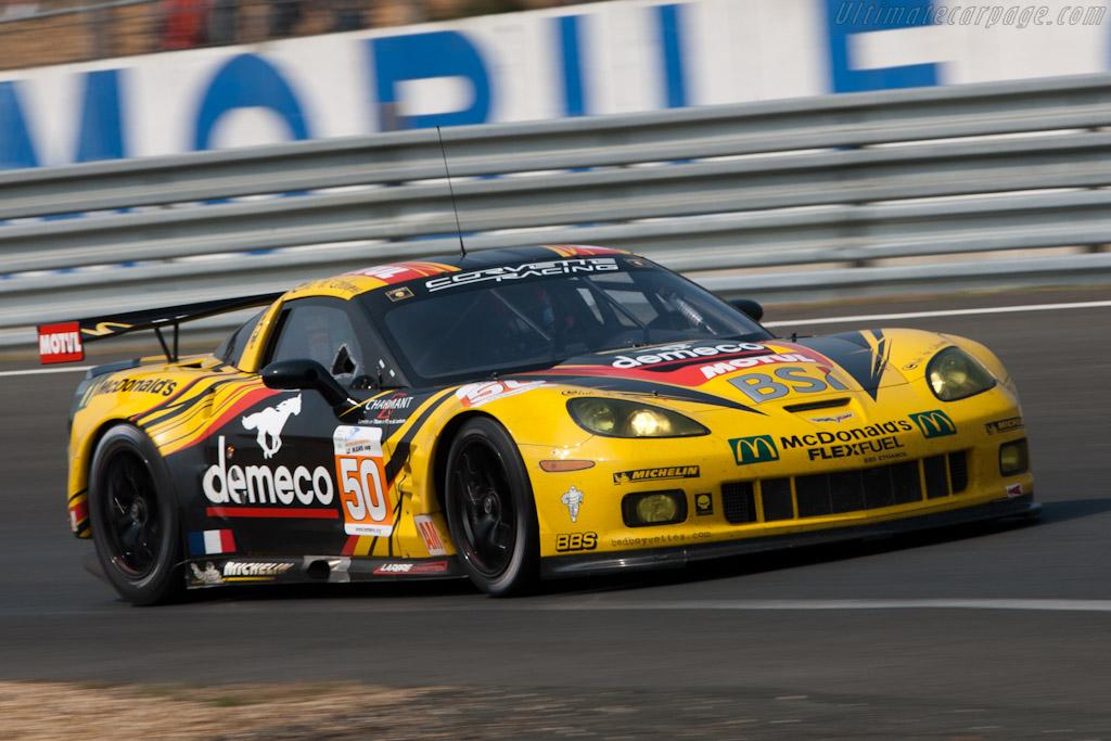 Chevrolet Corvette C6.R GT2 - Chassis: 001   - 2011 Le Mans Test