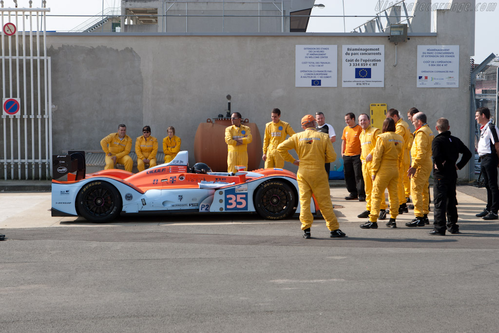 Extraction Team Practice - Chassis: 01-06   - 2011 Le Mans Test