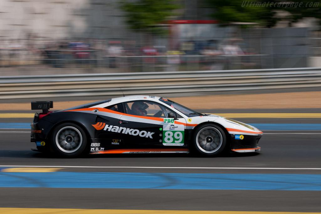 Ferrari 458 GT - Chassis: 2830   - 2011 Le Mans Test