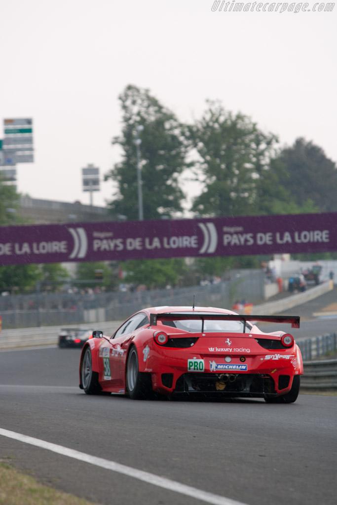 Ferrari 458 GT - Chassis: 2834   - 2011 Le Mans Test