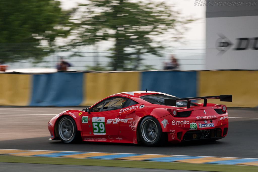 Ferrari 458 GT - Chassis: 2832  - 2011 Le Mans Test