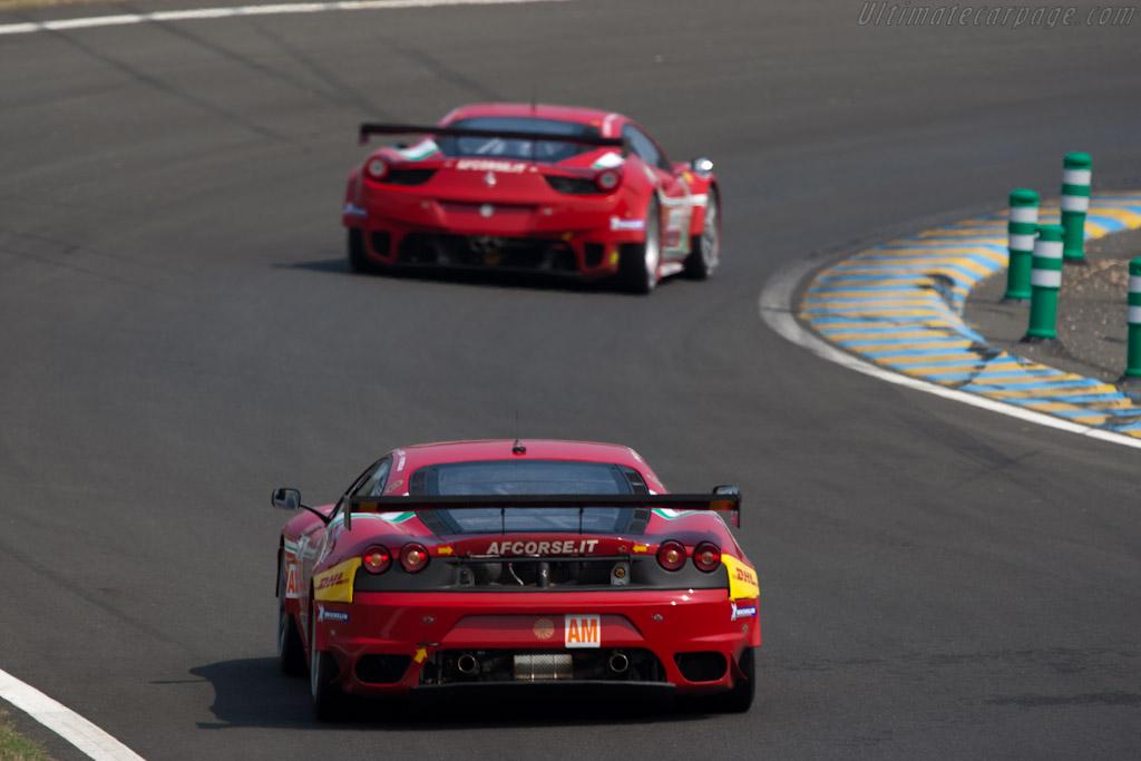 Ferrari F430 GTC - Chassis: 2624   - 2011 Le Mans Test
