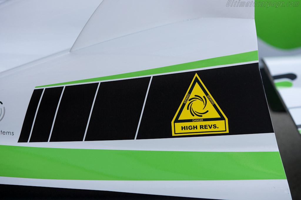 Flywheel Hybrid - Chassis: 02   - 2011 Le Mans Test