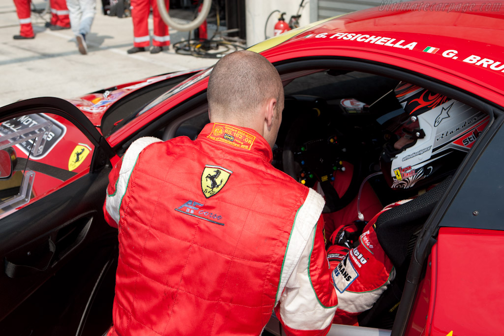 Gianmaria Bruni and Toni Vilander - Chassis: 2826   - 2011 Le Mans Test