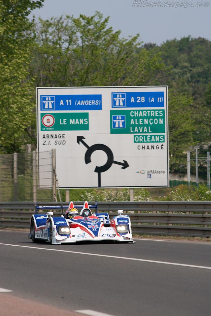 HPD ARX-01d - Chassis: LC70-12   - 2011 Le Mans Test