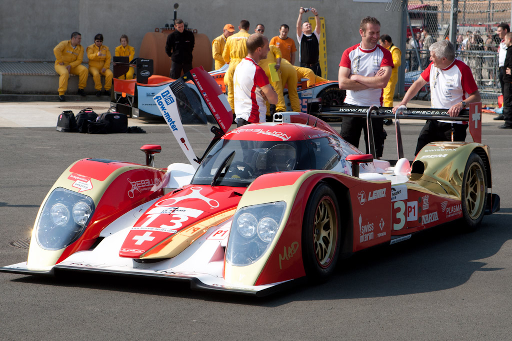 Lola B10/60 Toyota - Chassis: B0860-HU01  - 2011 Le Mans Test