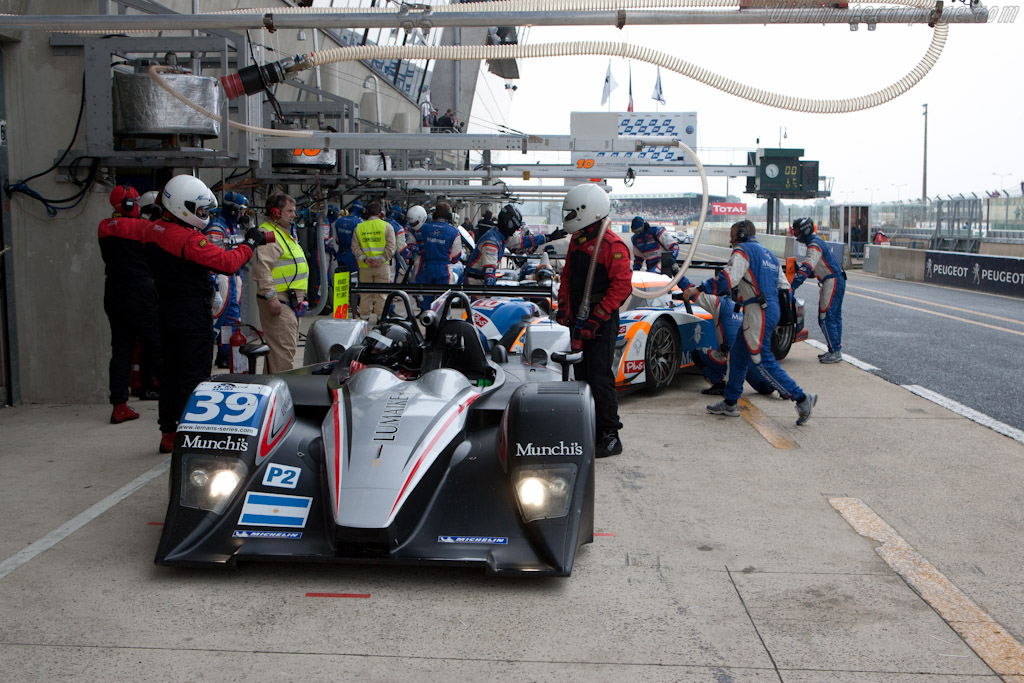Lola B11/40 Judd/BMW - Chassis: B1140-HU01   - 2011 Le Mans Test