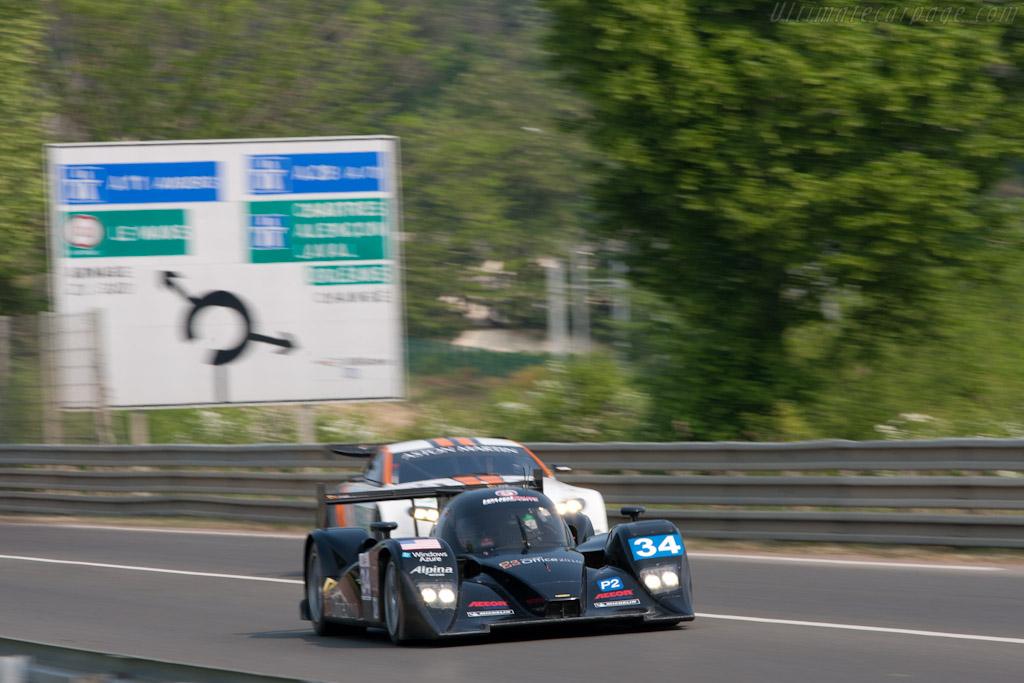 Lola B11/80 HPD - Chassis: B1180-HU06   - 2011 Le Mans Test