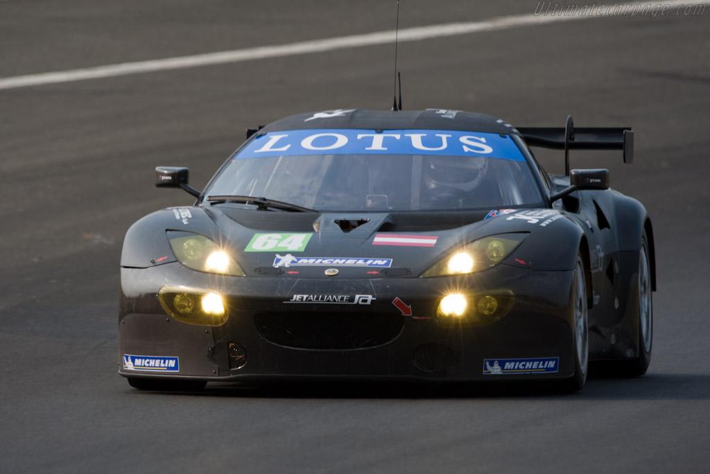 Lotus Evora GTE - Chassis: C001-001   - 2011 Le Mans Test