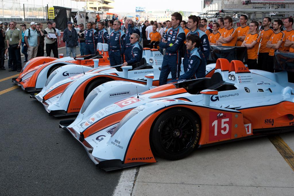 Oak Racing - Chassis: 01-10   - 2011 Le Mans Test