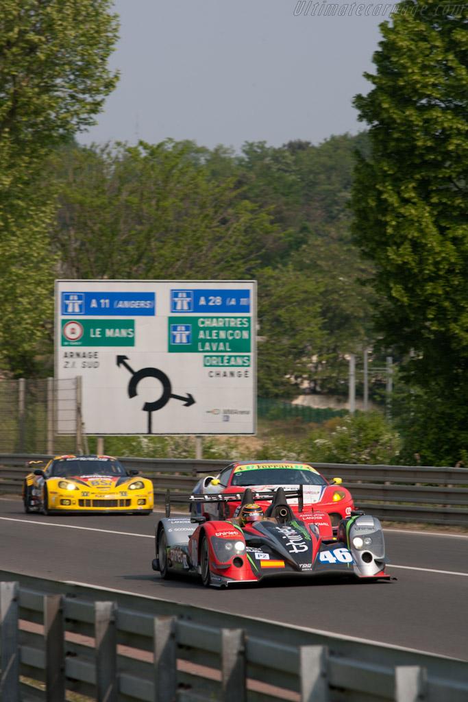 Oreca 03 Nissan - Chassis: 04   - 2011 Le Mans Test