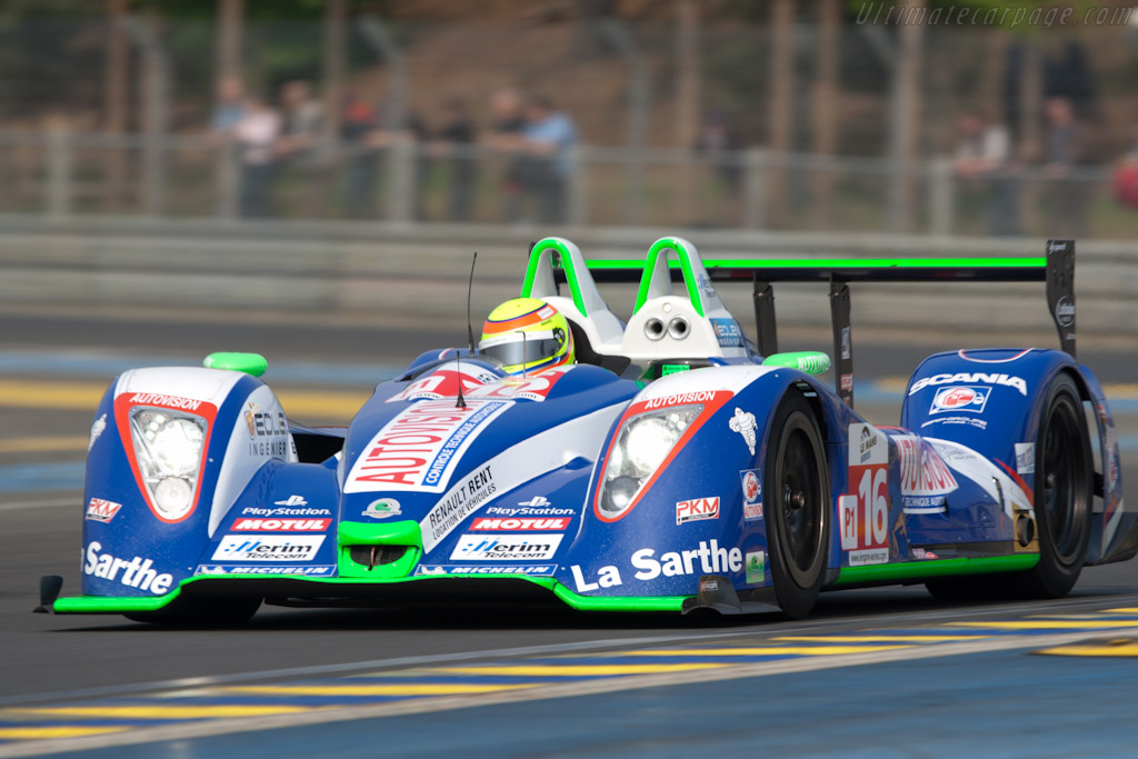 Pescarolo 01 Judd - Chassis: 01-08  - 2011 Le Mans Test