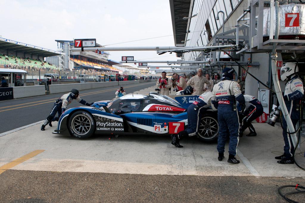 Peugeot Sport - Chassis: 908-04   - 2011 Le Mans Test