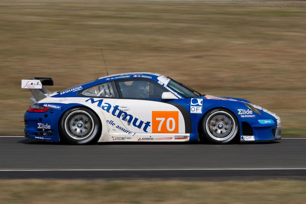 Porsche 997 GT3 RSR - Chassis: WP0ZZZ99Z9S799923   - 2011 Le Mans Test