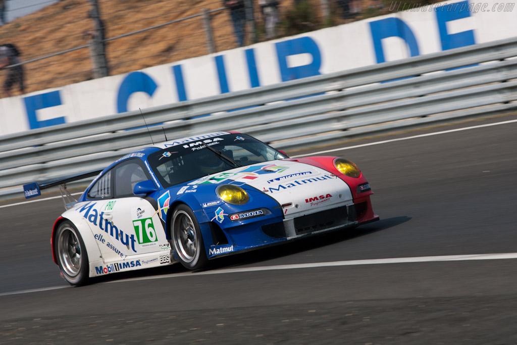 Porsche 997 GT3 RSR - Chassis: WP0ZZZ99Z9S799915   - 2011 Le Mans Test