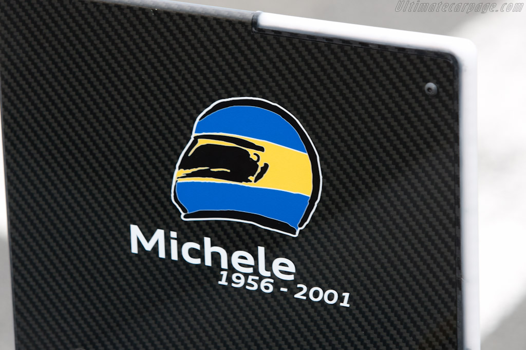 Remembering Michele Alboreto    - 2011 Le Mans Test