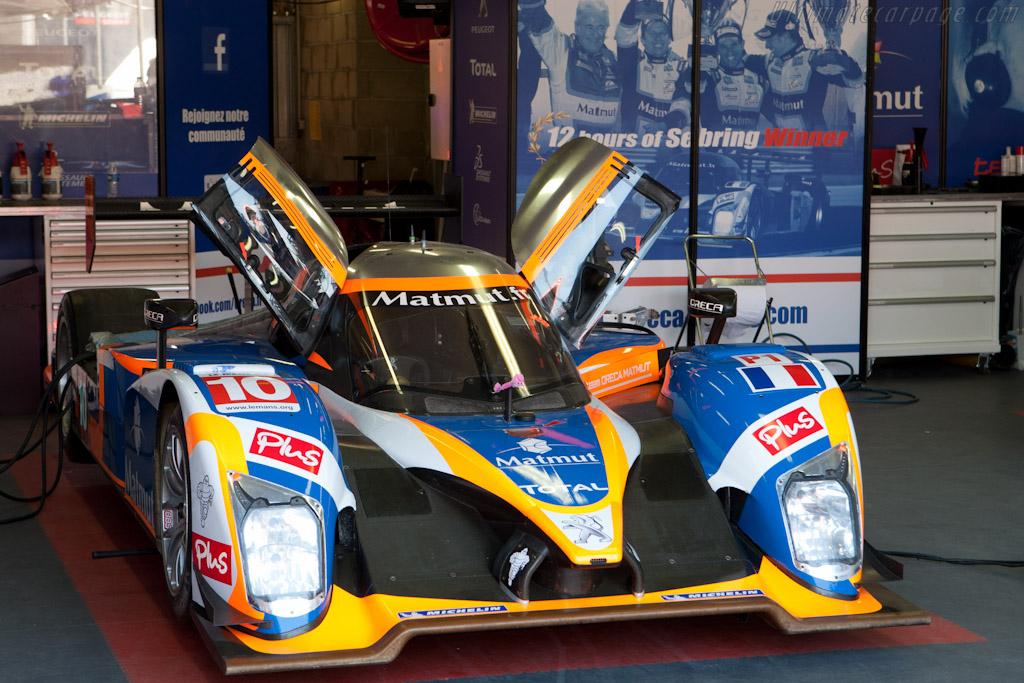 Sebring Winning Peugeot - Chassis: 908-10   - 2011 Le Mans Test