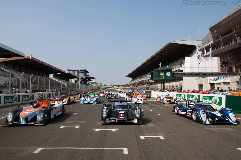 Welcome to Le Mans - Chassis: 104   - 2011 Le Mans Test