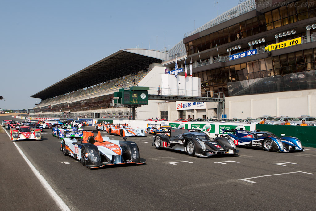 Welcome to Le Mans - Chassis: 2  - 2011 Le Mans Test